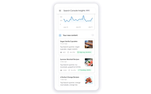 Google Search Insight mang lại sự hiệu quả tuyệt vời cho nhà xuất bản nội dung