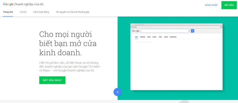 truy cap google business