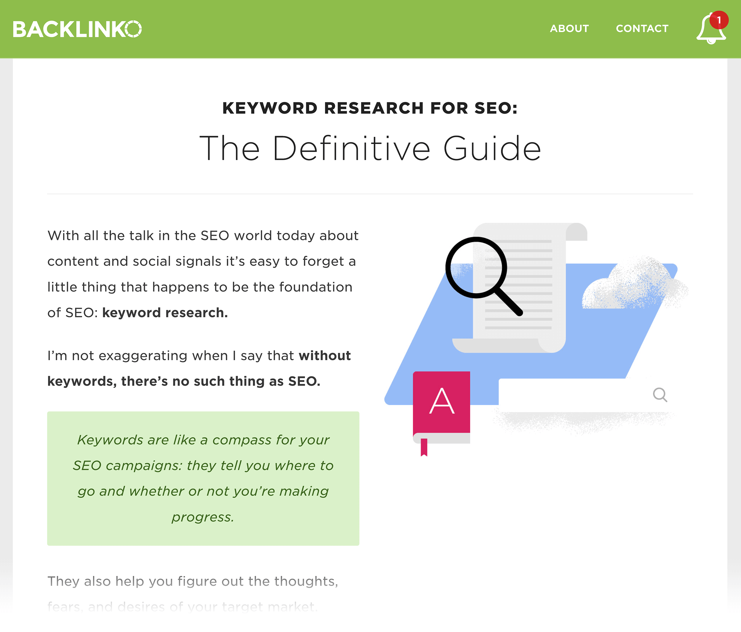 Keyword Research post