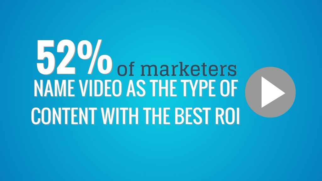 content marketing - video
