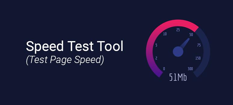 Công cụ kiểm tra tốc độ internet của Speed Test