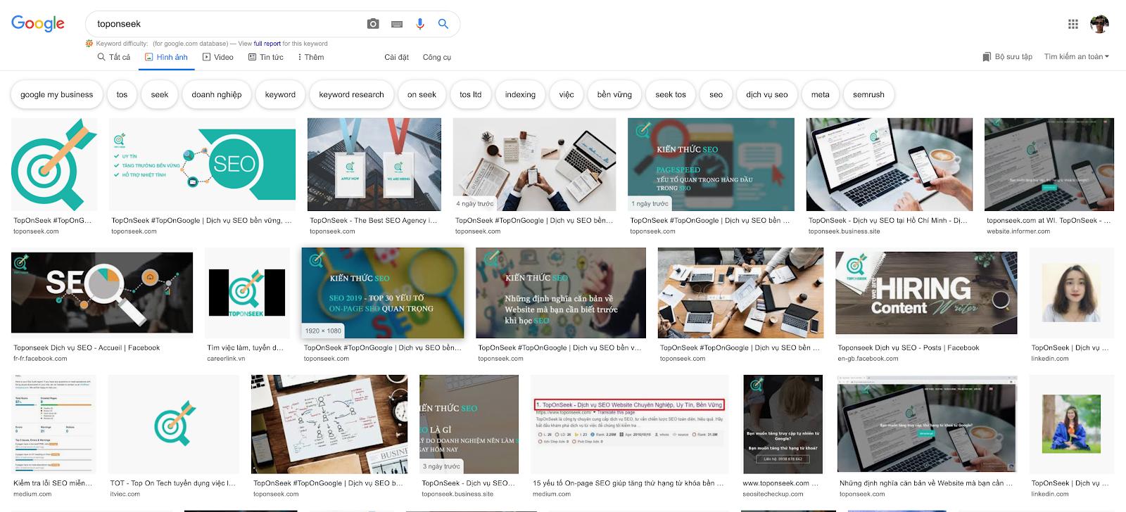 Giao diện mới cho Google Tìm kiếm hình ảnh được phát hành vào cuối tháng 9 năm 2018