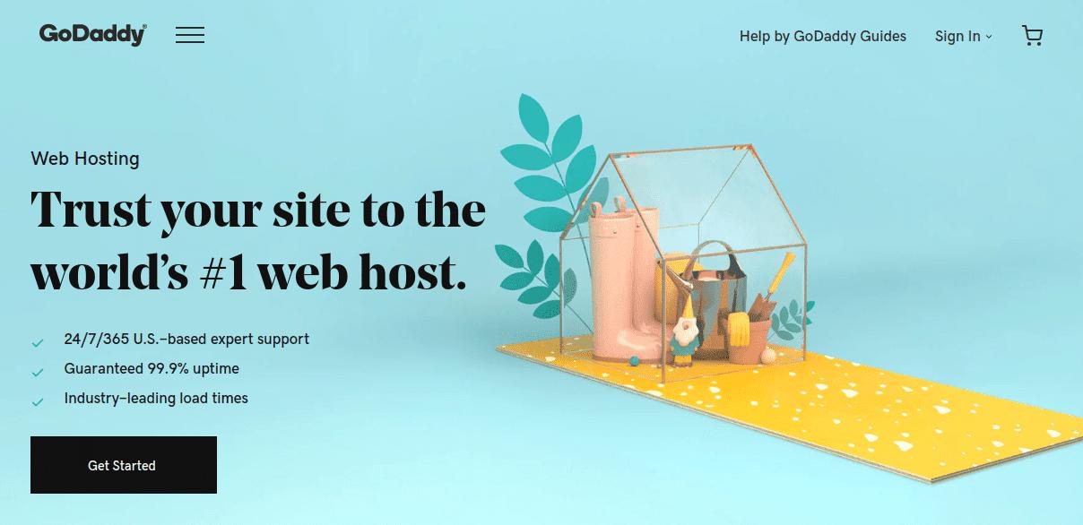 GoDaddy - Cung cấp hosting giá rẻ