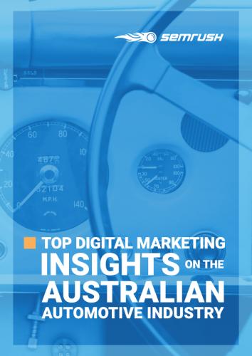 Top Digital Marketing Insights on the Australian Automotive Industry
