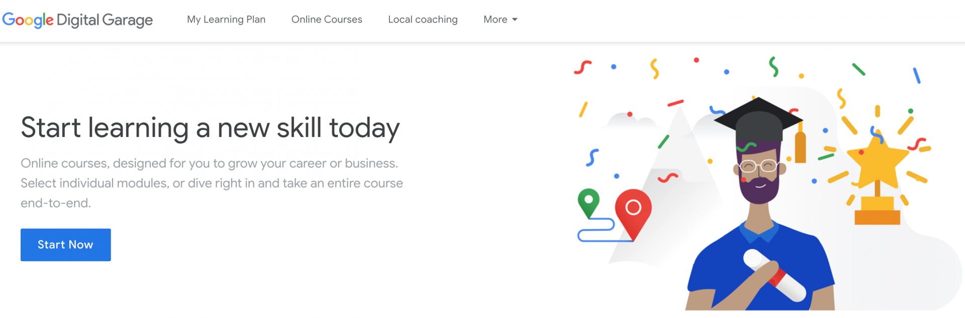 Google Digital Garage - Đào tạo Digital Online miễn phí