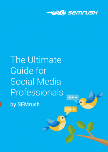 The Ultimate Guide for Social Media Professionals by SEMrush