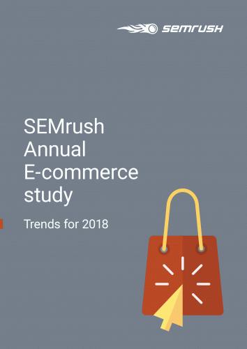 SEMrush Annual E-commerce study