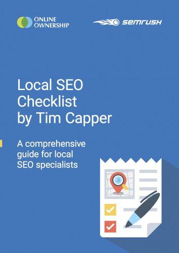 Local SEO Checklist by Tim Capper