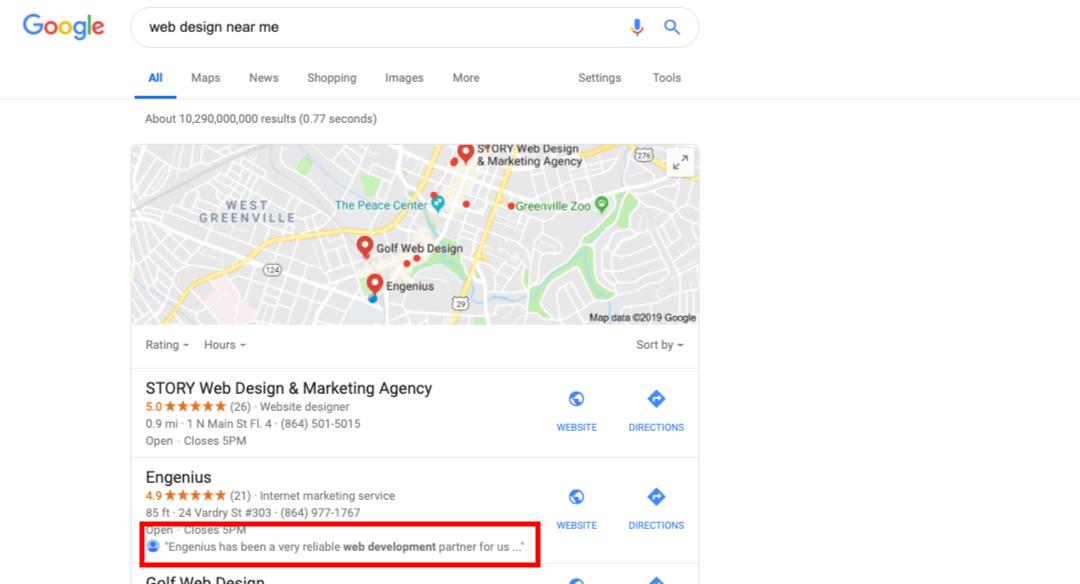 Tối ưu những đánh giá chất lượng trên Google Maps