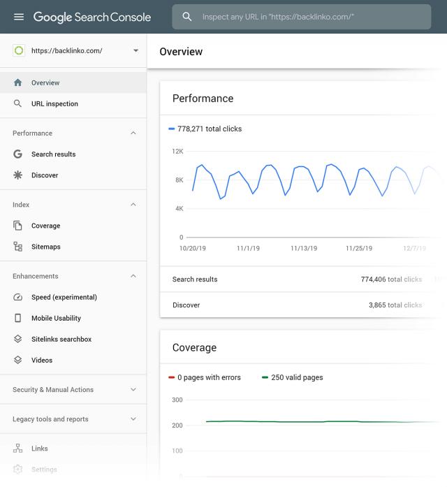 công cụ SEO-Google Search Console
