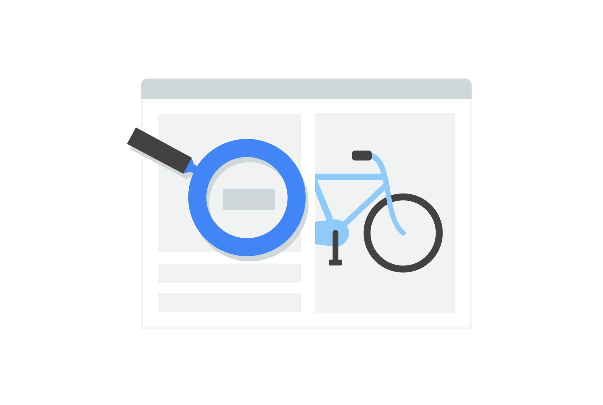 Google Search sự liên quan các trang web