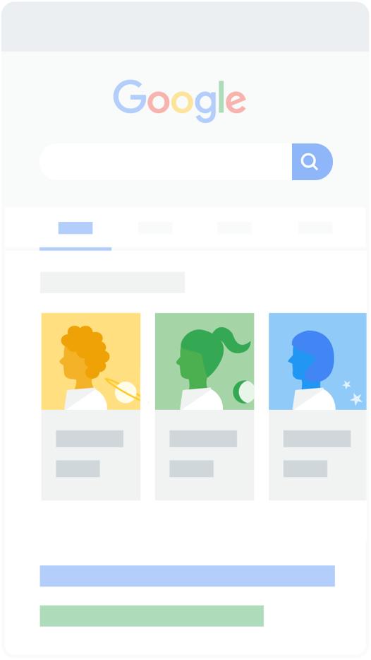 Google search - Danh sách