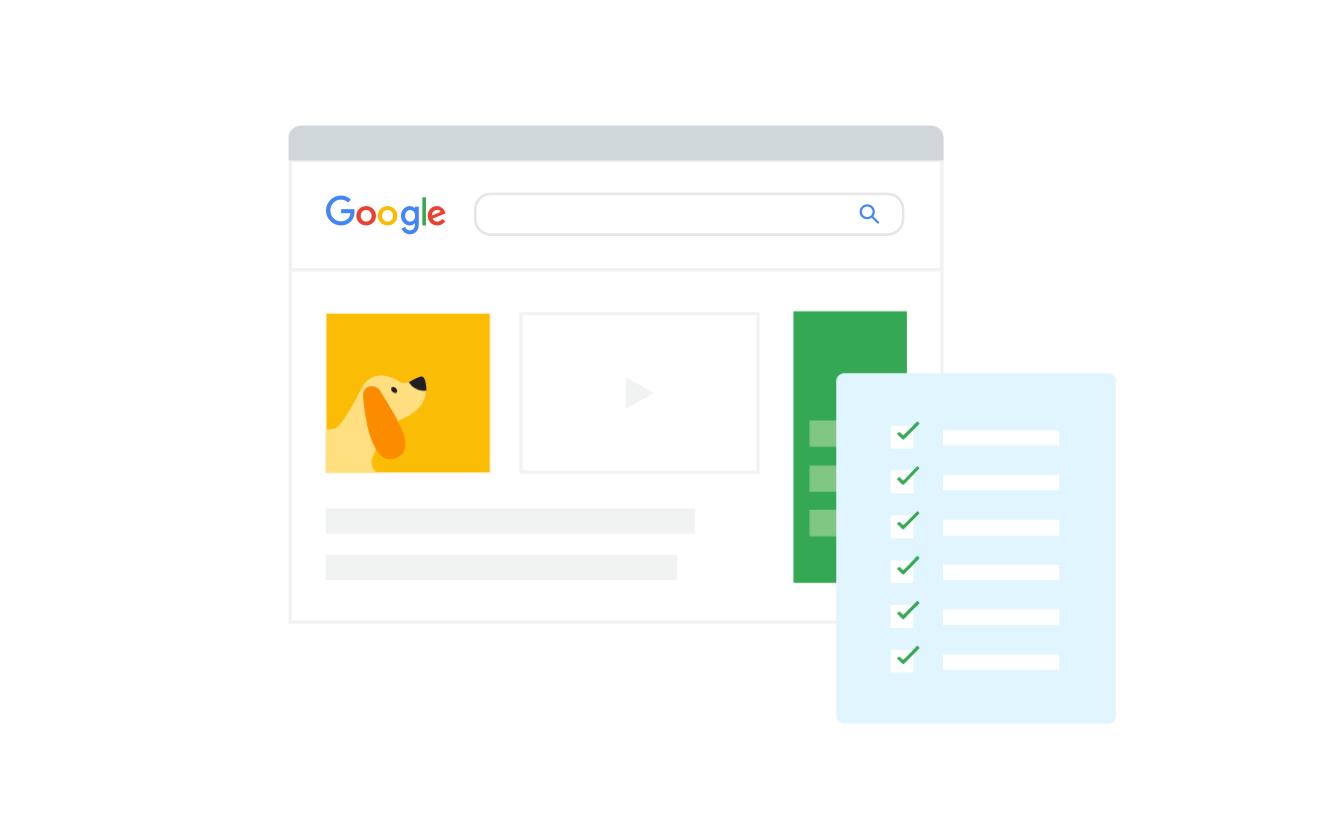 Google search - Kiểm tra chất lượng