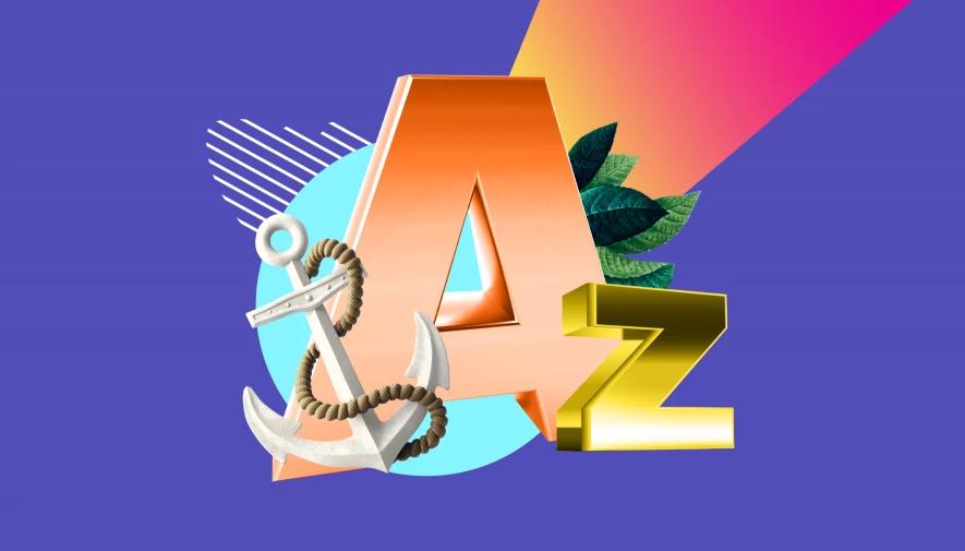 anchor text a đến z
