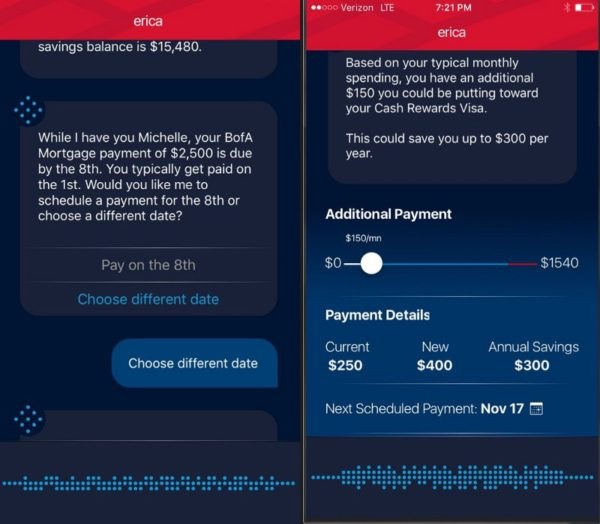chatbot - Bank of America