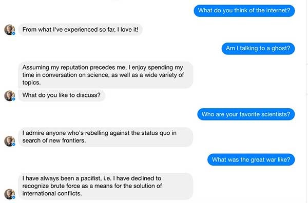 chatbot - National Geographic