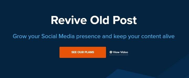 Plugin WordPress - Revive Old Post