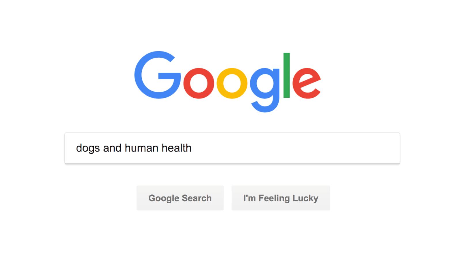 """Tìm kiếm """"chó và sức khỏe con người"""""""
