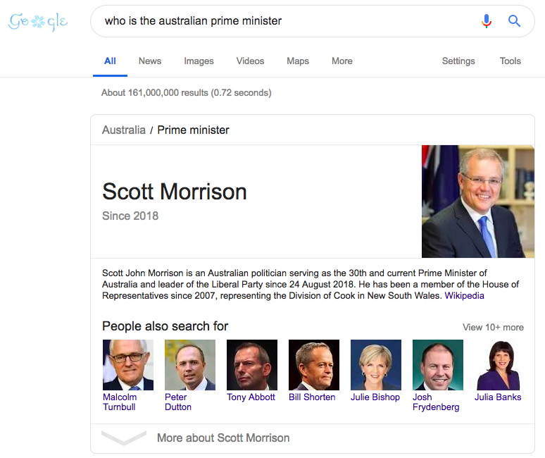 seo web hiệu quả - ai là thủ tướng úc