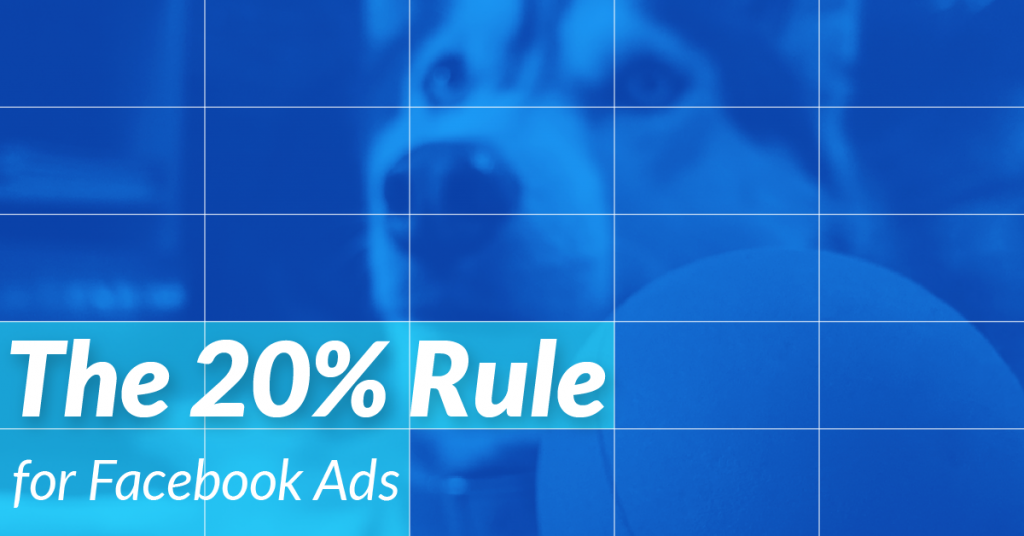 Quy tắc 20% overlay text facebook ads
