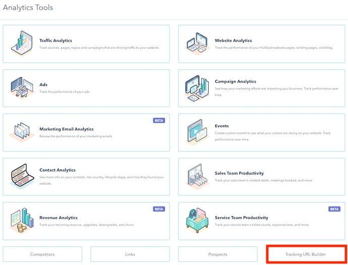 Cách tạo UTM codes trong HubSpot