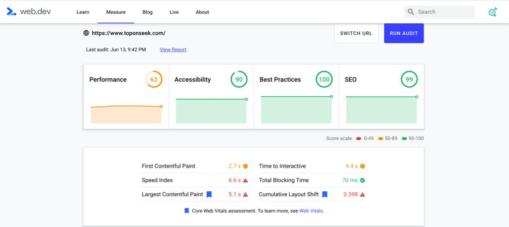 Chuẩn SEO Audit từ Google