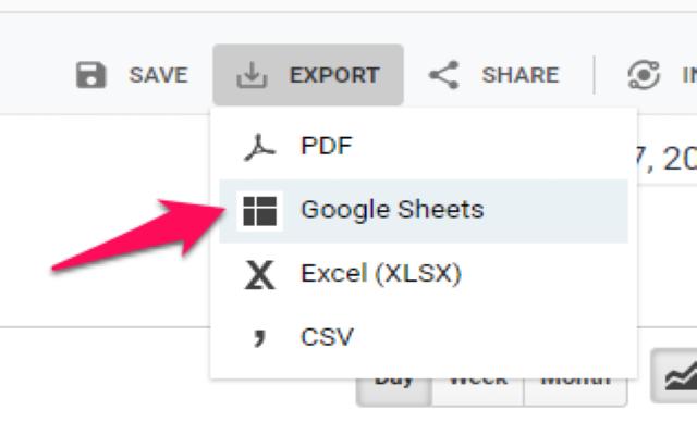 Trích xuất URLs ra Google Sheets