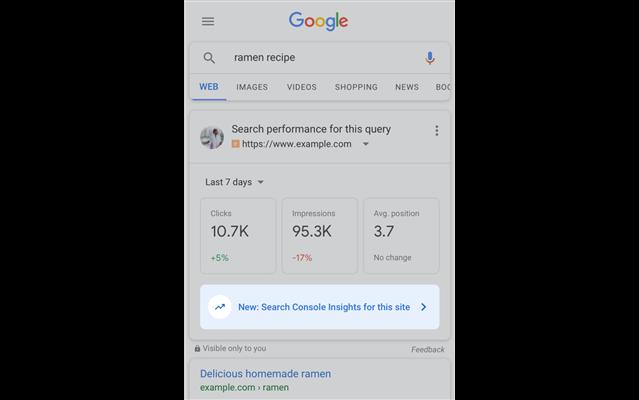 Cách để sử dụng bản beta từ Search Console Insight