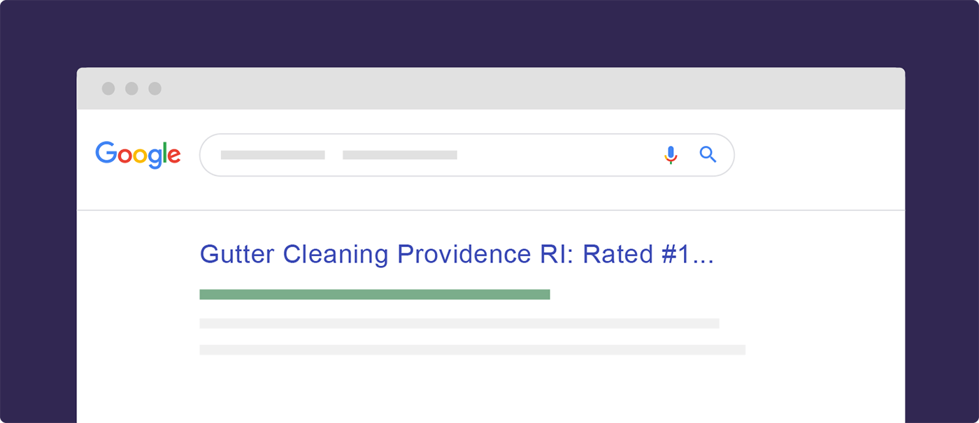 Make sure your statement goes beyond Google's title tag limit