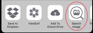 Ứng dụng tiện lợi trên iOS với tùy chọn tìm kiếm hình ảnh Search Image
