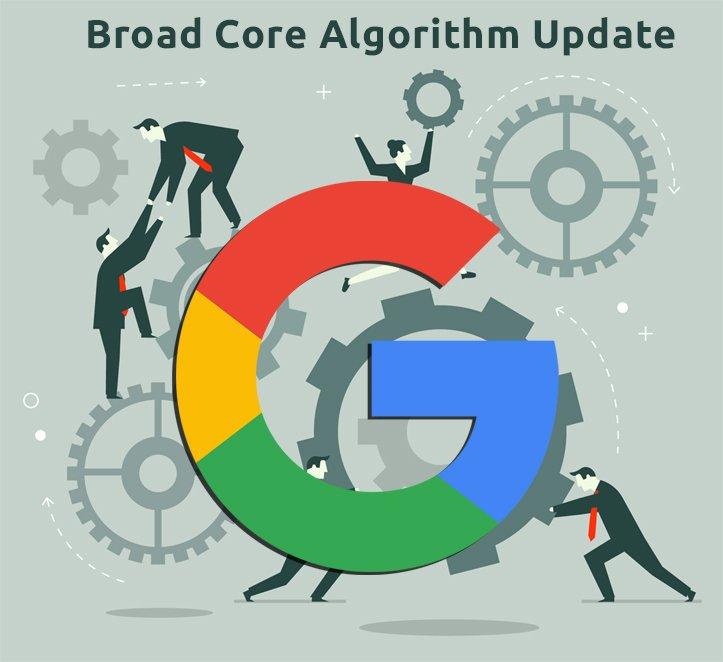 Cập nhật Broad Core trong lịch sử thuật toán Google