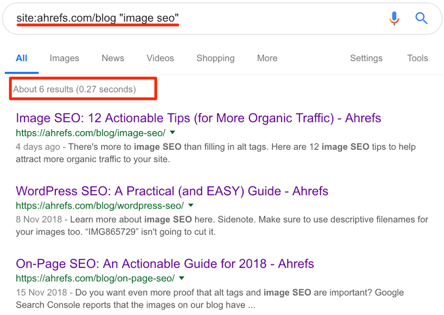 Internal links - tìm kiếm google