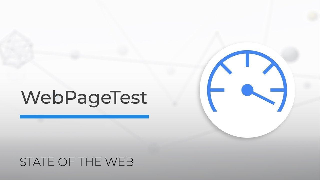 Công cụ kiểm tra tốc độ WebPageTest