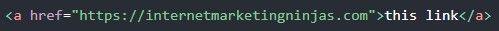 Code dofollow backlinks