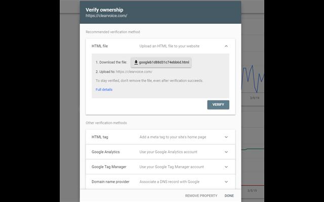 Cập nhật- Xác minh trang web của bạn khi dùng Google Tag Manager