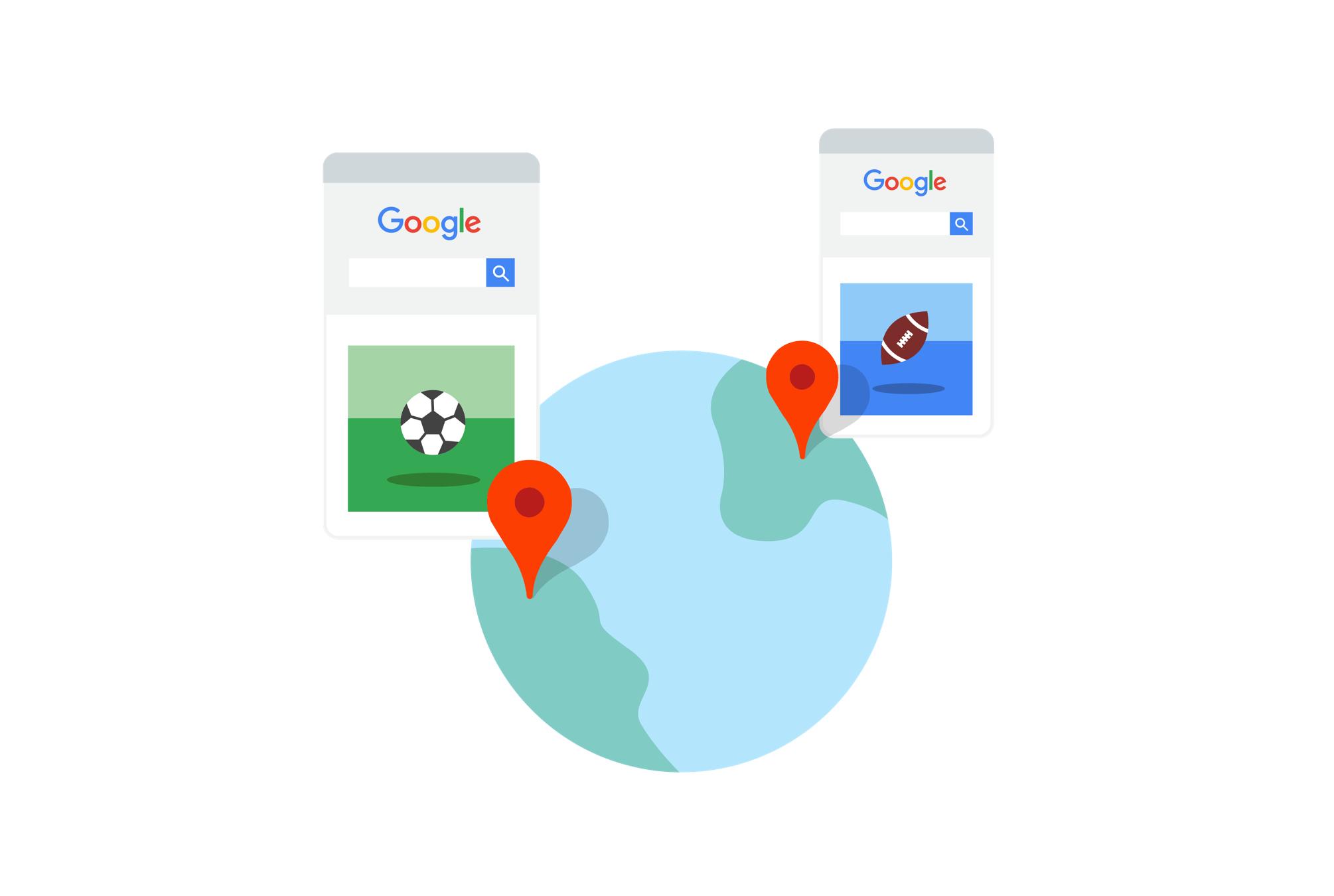 Google Search - Bối cảnh và cài đặt