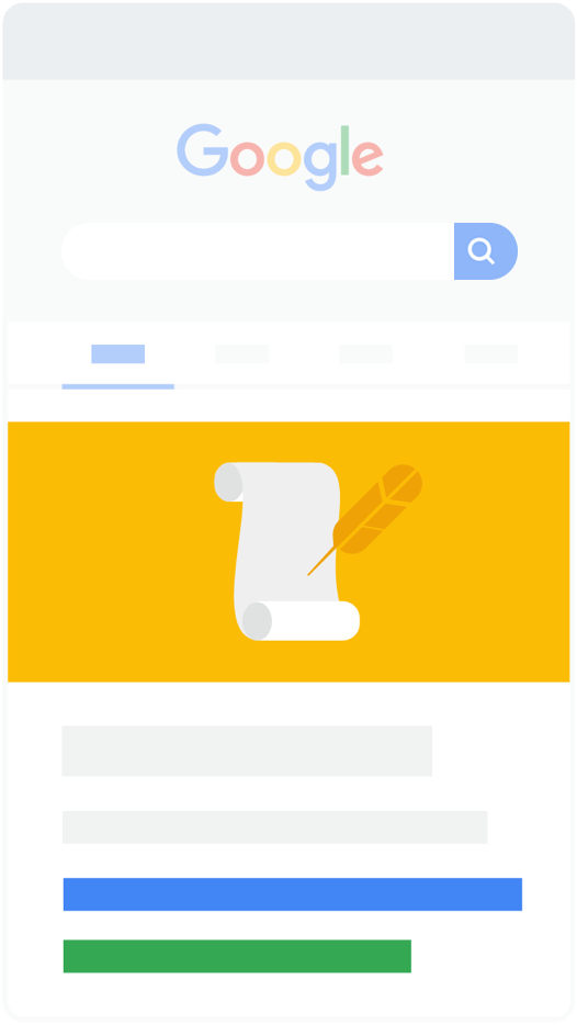Google search - Đoạn trích