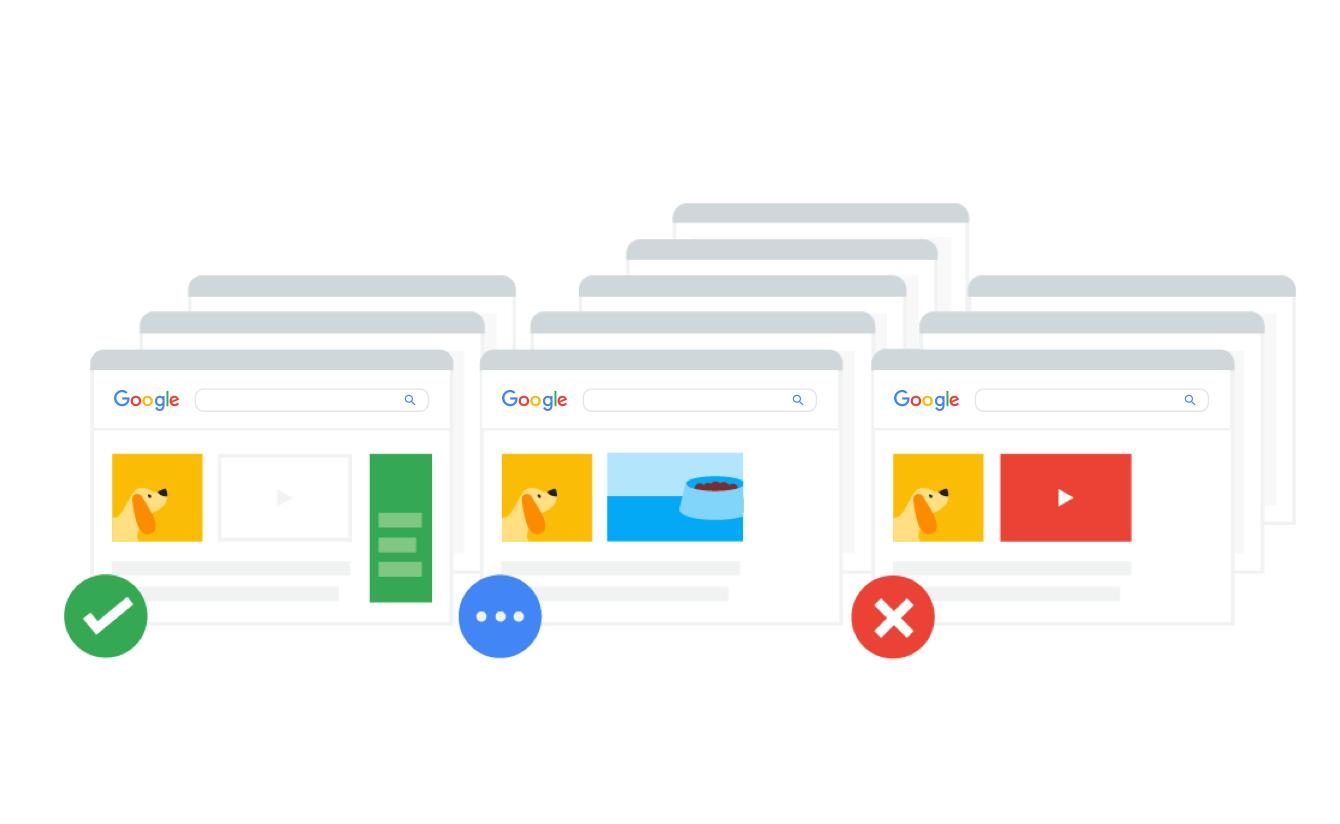 Google search - Đề xuất