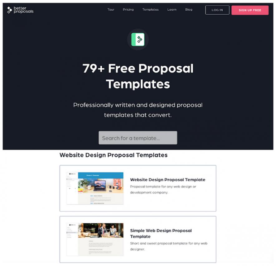 Công cụ marketing: Better Proposals
