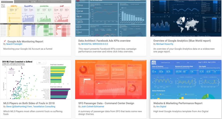 Công cụ marketing: Google Data Studio