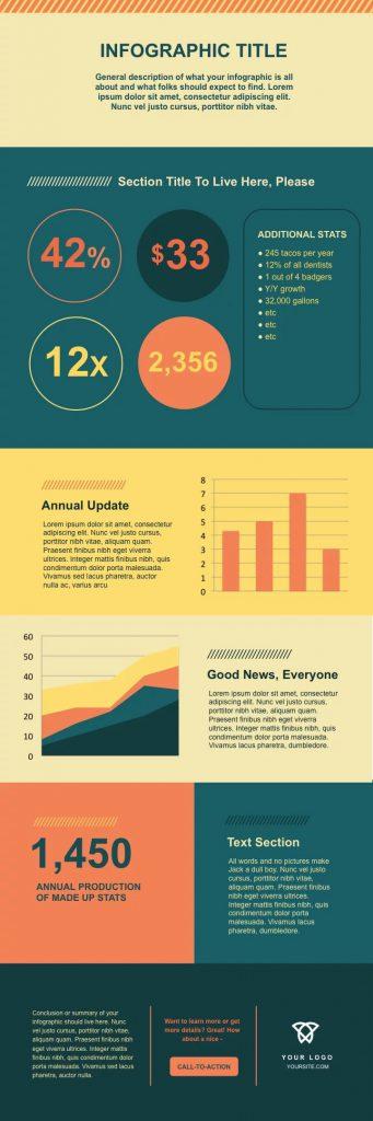 15 mẫu infographic PowerPoint và Illustrator miễn phí