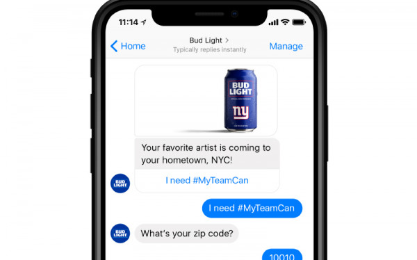 chatbot - Bud Light
