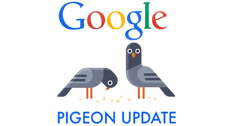 Google Pigeon là gì? Cách tăng thứ hạng với Google Pigeon