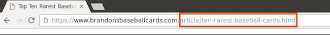 URL hiển thị