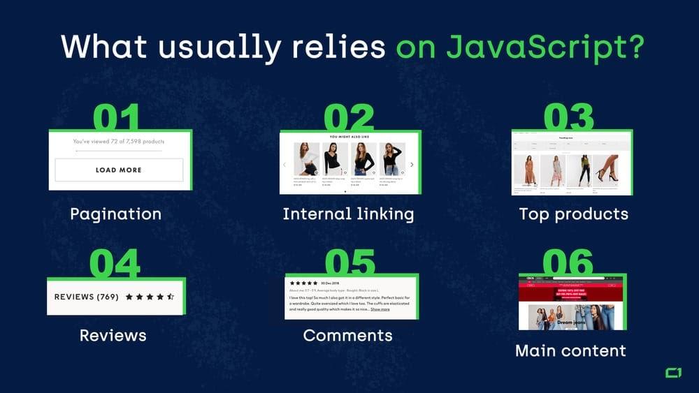 SEO JavaScript - Yếu tố