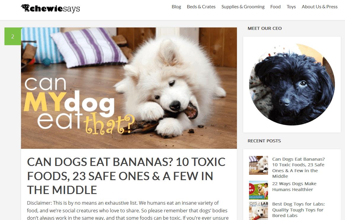 Trang web của ChewieSays