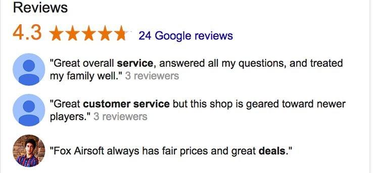 Google đánh giá doanh nghiệp của tôi
