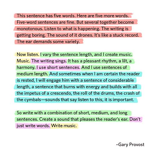 Định dạng câu và đoạn