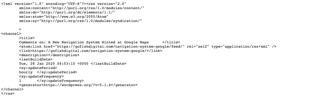 Giari pháp RSS Not Indexed