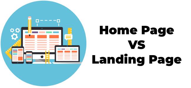Điều gì làm cho trang chủ khác với Landing Page?